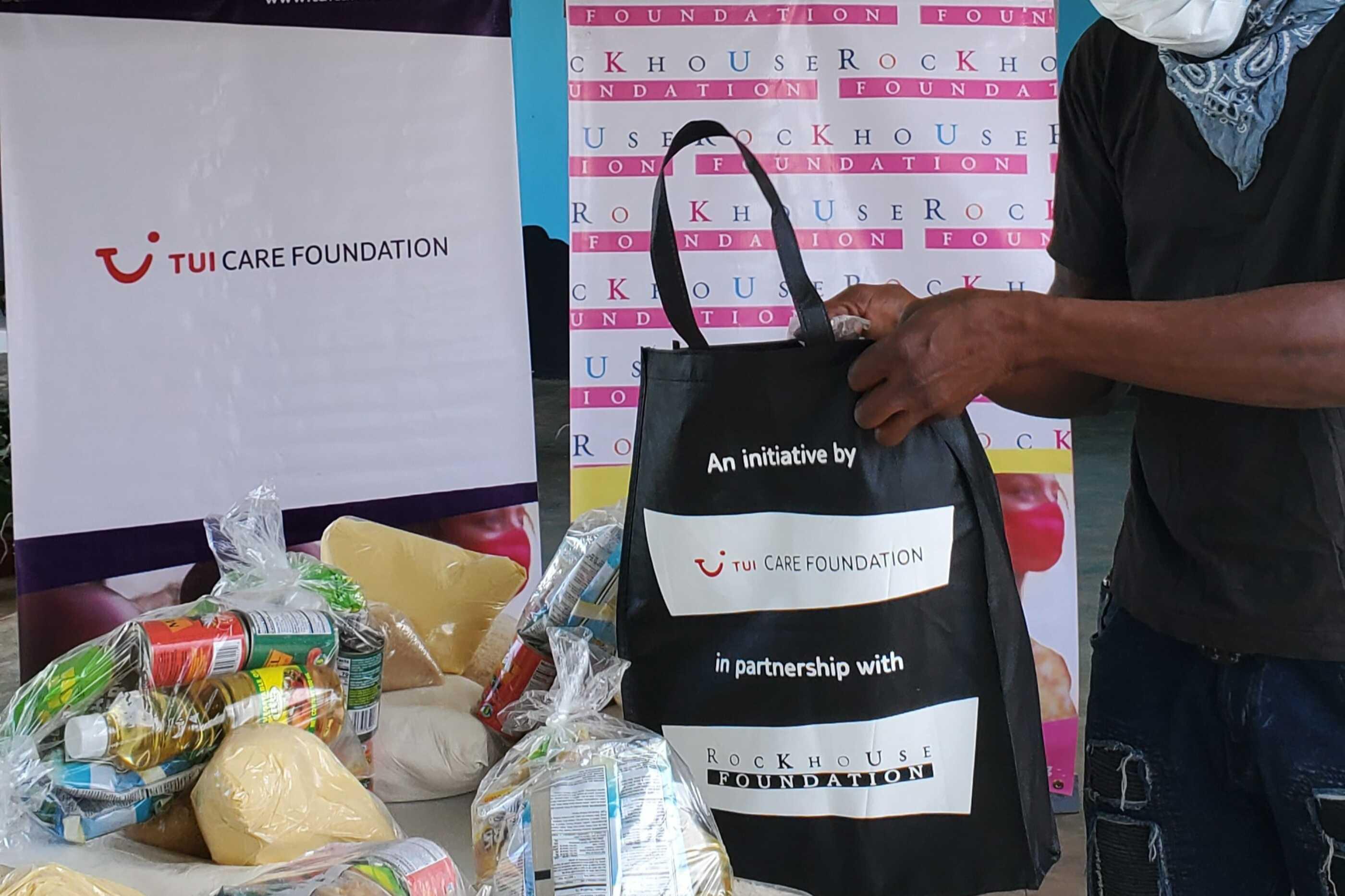 TUI Care Foundation Food Bank Jamaica1