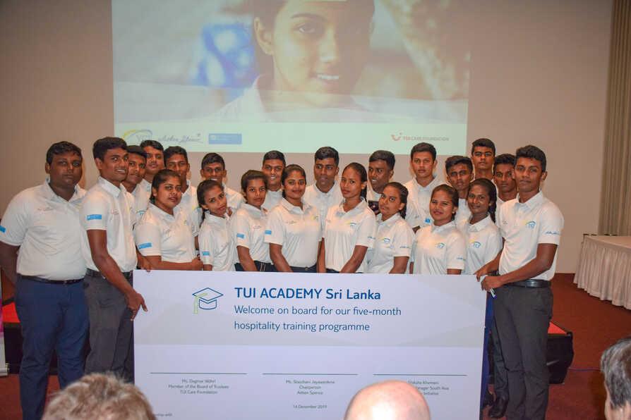 TUI Academy Sri Lanka Graduation