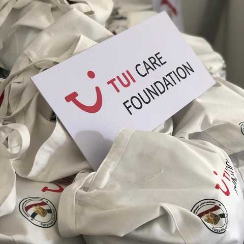TUI Care Foundation Food Bank Egypt2