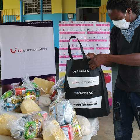 TUI Care Foundation Food Bank Jamaica1