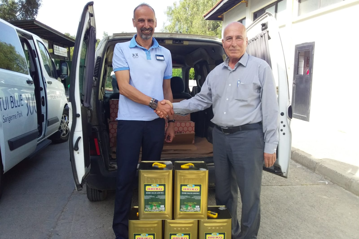 TUI Blue signs agreement to buy products from local producers in Mugla, Turkey